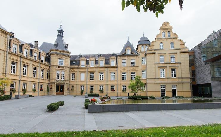 Logement-Château-vue Entrée