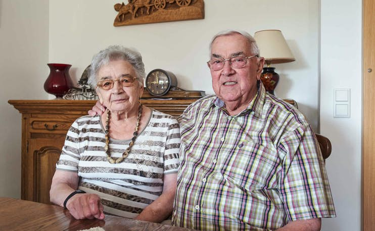 Esprit de Famille, couple Flesch
