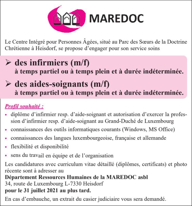 Anzeige Maredoc Asbl 26 06 2021 2254111 001